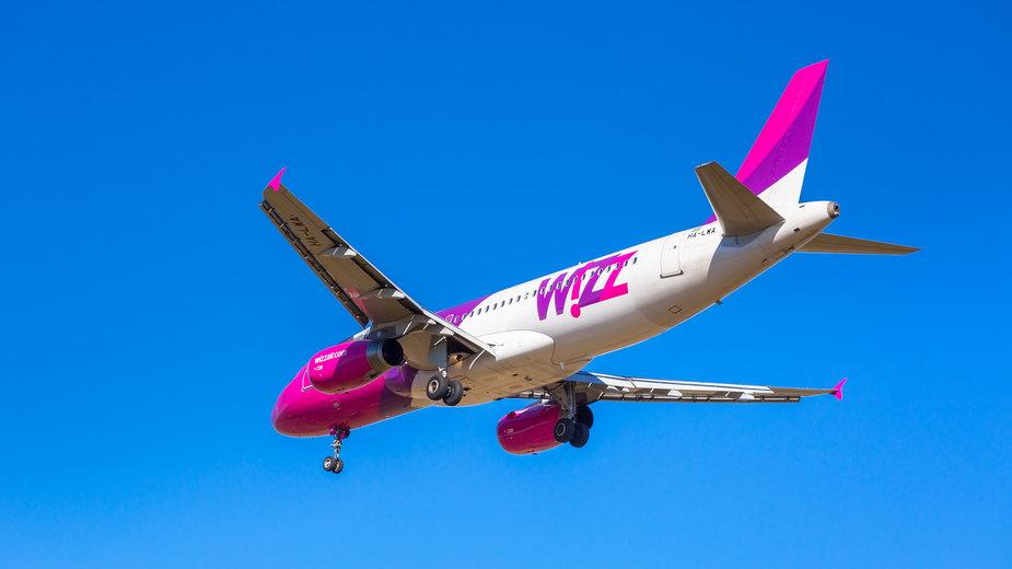 Wizz Air ostro tnie trasy z Polski. Odwołano setki lotów