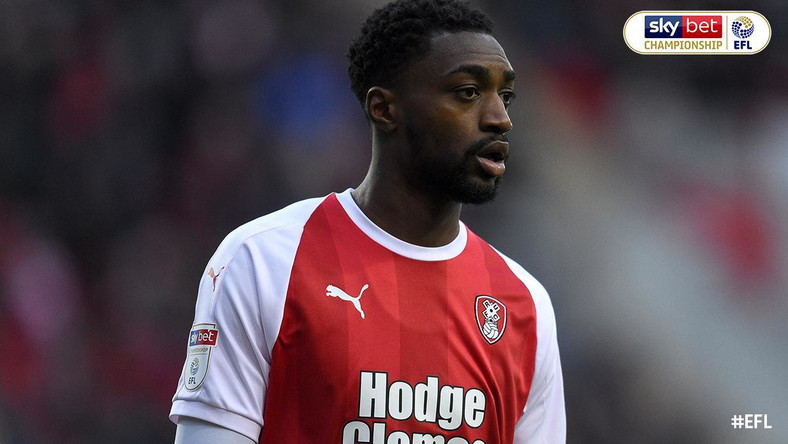 Semi Ajayi could not save Rotherham United from defeat against Norwich City [Twitter/Sky Bet Championship]