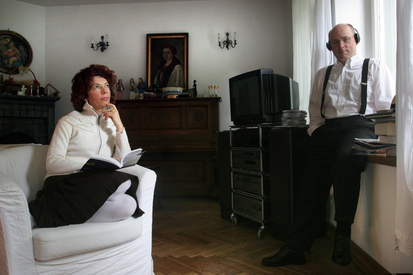 Jan Rokita i jego żona Nelly Arnold Rokita