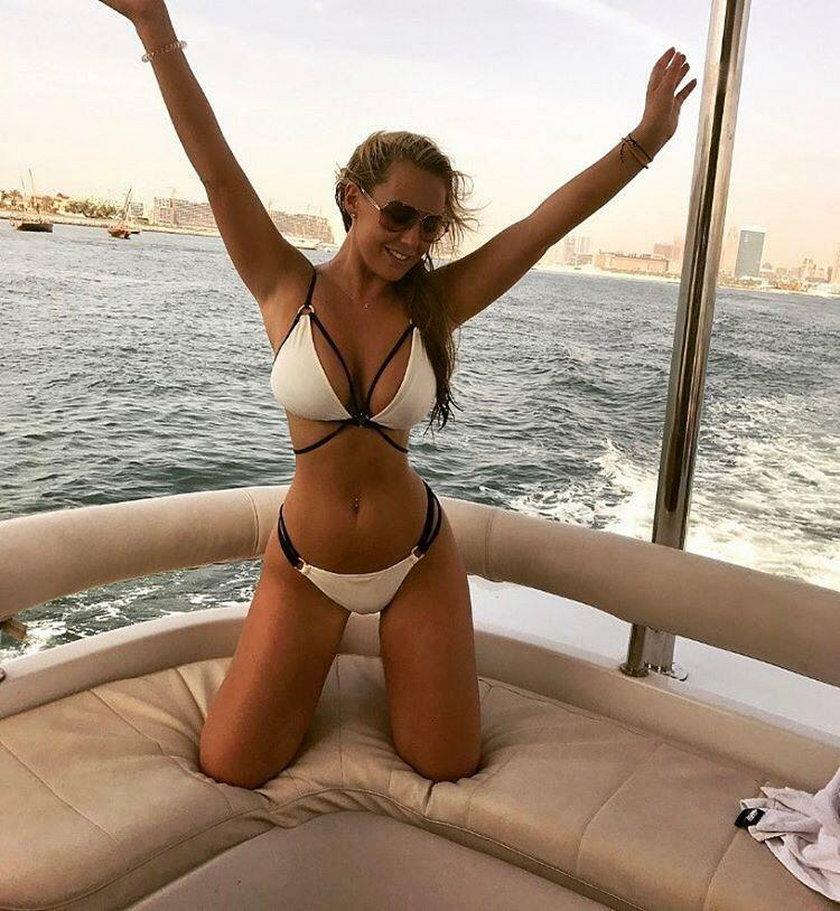 Nowa dziewczyna legendy Manchesteru. W bikini zachwyca