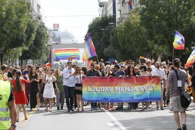 Parada ponosa, Beograd