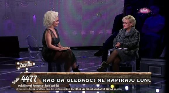 Milica Dugalić razgovara sa Dušicom