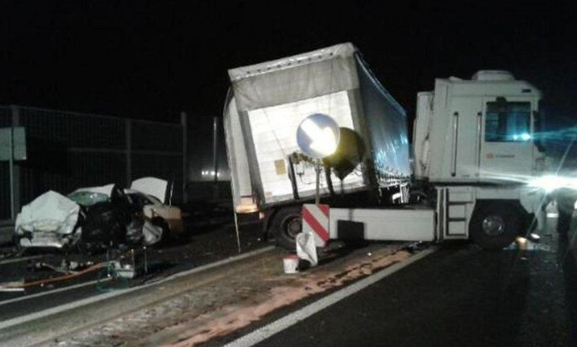 Do śmiertelnego wypadku doszło na drodze krajowej nr 12