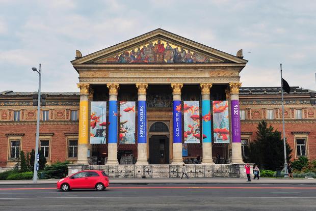 Pałac Sztuki, Mücsarnok, Budapeszt