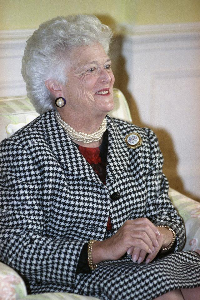 Barbara Bush (z domu Pierce)