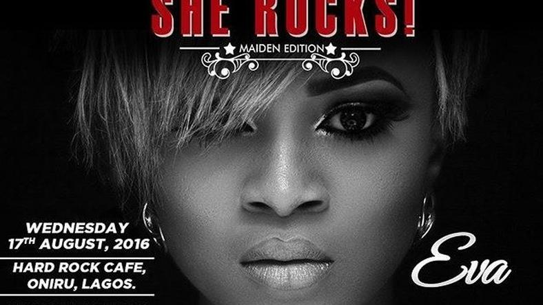 Eva Alordiah headlines She Rocks! maiden edition