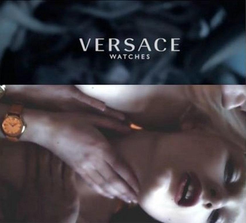 Kampania zegarków Versace