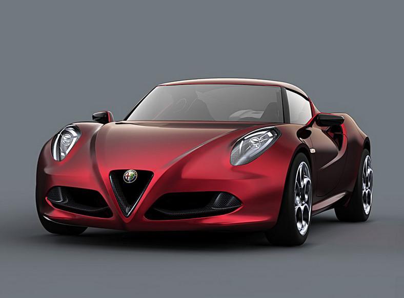 Alfa Romeo 4C Concept prosto z salonu w Genewie