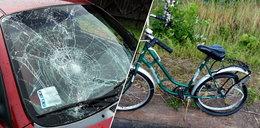 Kierowca potrącił rowerzystkę i odjechał. W garażu znaleziono jego ciało. Co tam się wydarzyło?!