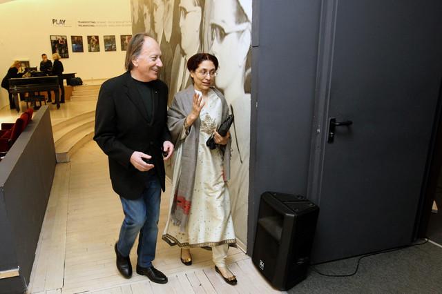 Film gledala i ambasadorka Indije u Beogradu Narinder Čohan