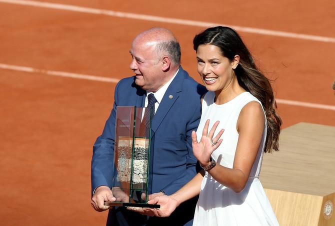 Ana na svečanom oprošatju od tenisa