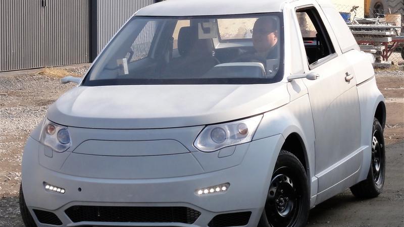ELV 001 - polski samochód elektryczny