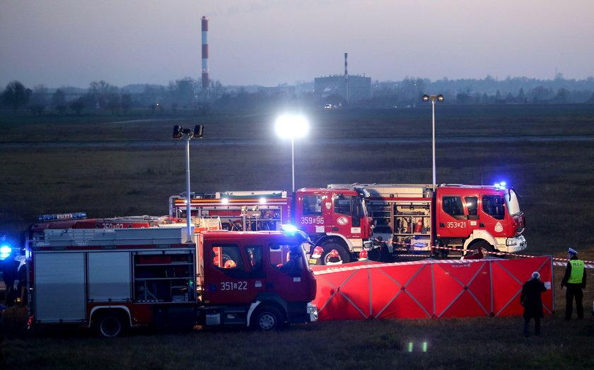 Katastrofa lotnicza w Rudnikach. Wiadomo dlaczego samolot spadł