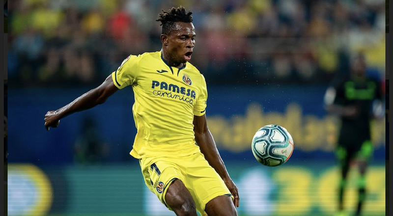 Villarreal turn down €35m bid from Liverpool for Super Eagles forward Samuel Chukwueze