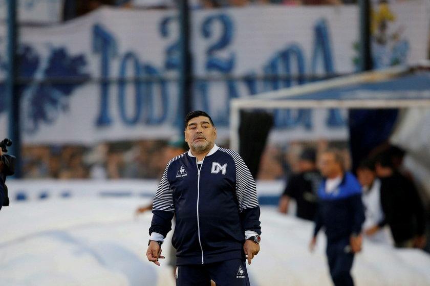 Maradona fiknął kozła podczas meczu