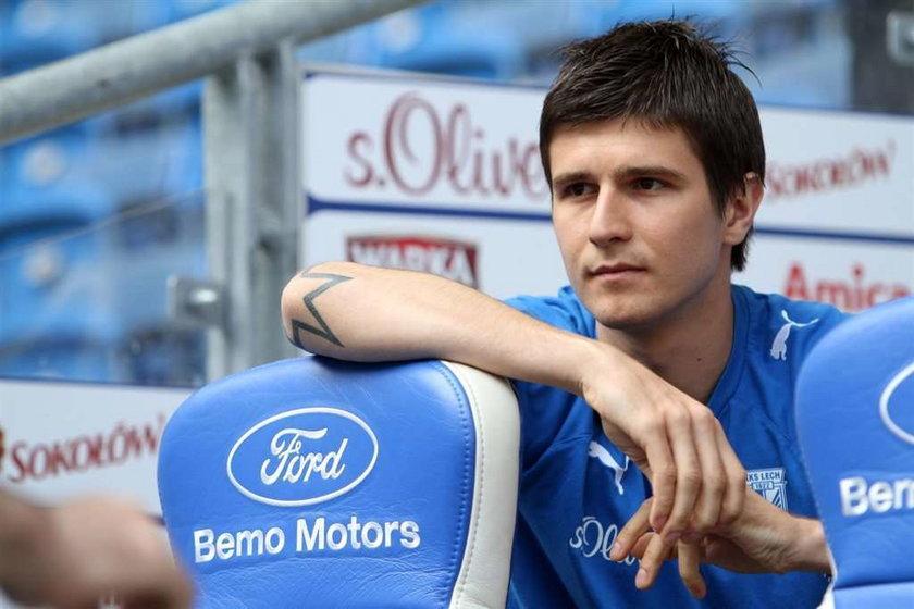 Semir Stilić nie chce podpisywać nowego kontraktu z Lechem
