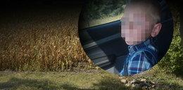 Zostawił Kubusia w polu kukurydzy, bo był niegrzeczny. Malec wybiegł na jezdnię...