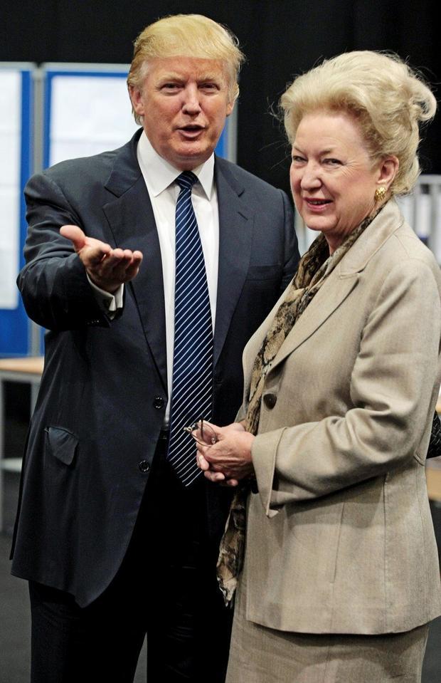 Marjan i Donald Tramp
