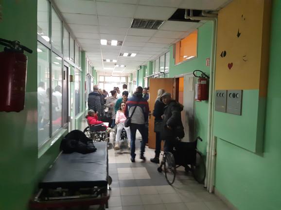 U leskovačkoj bolnici je zbrinuto 28 osoba
