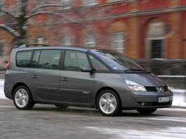 Renault Espace IV dCi - tani, rodzinny ale kapryśny van