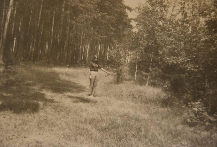 Henryk Czyżewski w czasie wizji lokalnej
