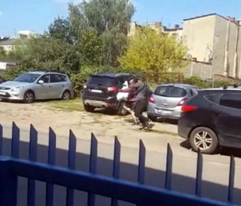 Poznań: złodziej ukradł rzeczy warte milion zł. Zobacz wideo