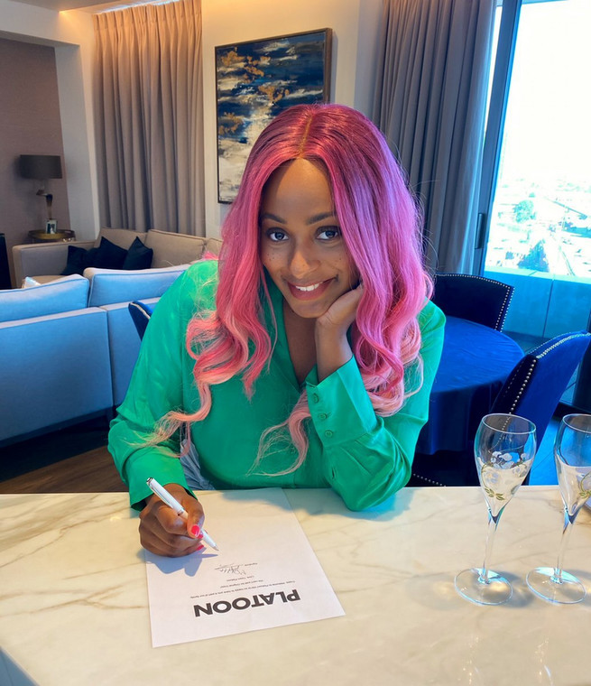 Cuppy signs deal with Platoon for her debut album. (Twitter/CuppyMusic)