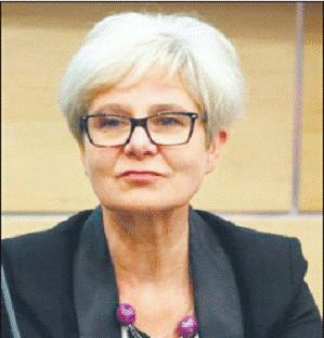 Prof. dr hab. Ewa Jaskóła, kierownik Katedry Dydaktyki Języka i Literatury Polskiej Uniwersytetu Śląskiego w Katowicach