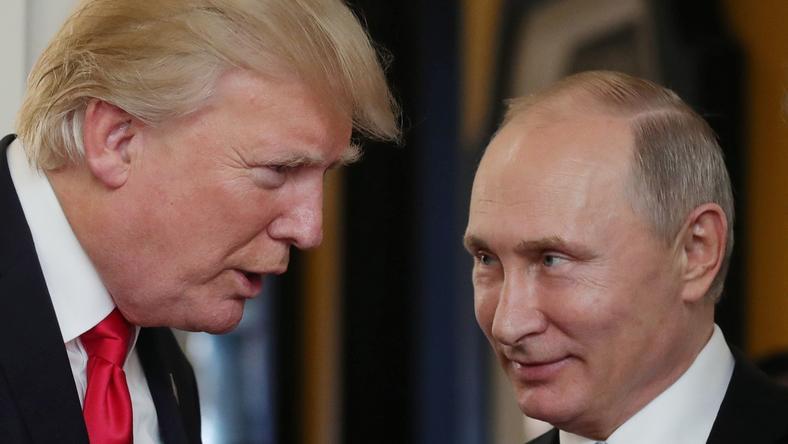 Amerykański ekspert twierdzi, że Trump daje się wodzić za nos Putinowi