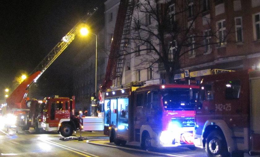 Pożar w Kaliszu
