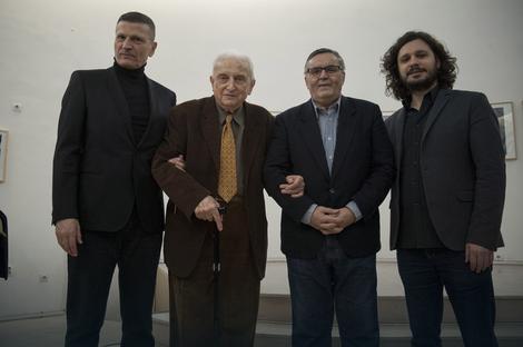 Sa članovima žirija: Bradić, Petrić, Zelenović i Arsenijević