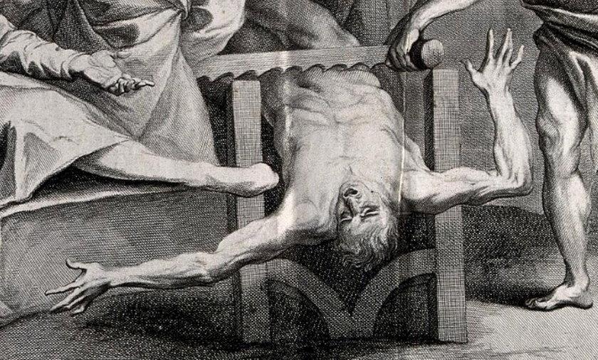 Franco da Franco wzięto na męki, a później skazano na wyrwanie języka i poćwirtowanie.