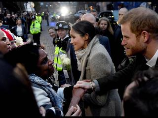 Prince Harry and Meghan Markle visit Reprezent 107.3FM