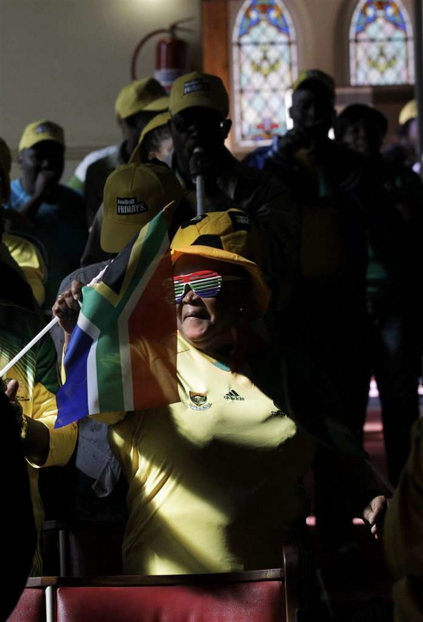 Wierni w całym RPA przed meczem z Francją modlą się za swoją reprezentację