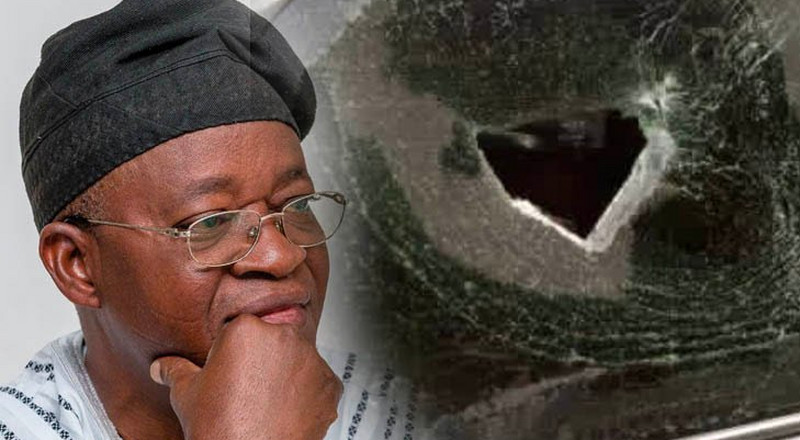 Gov Oyetola says he was attacked by political thugs not #ENDSARS protesters