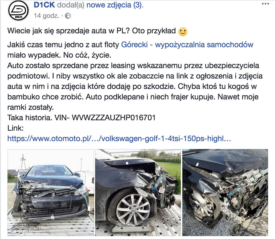 Klasyka z internetu: VW Golf