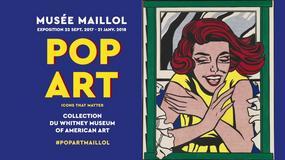 """""""POP ART. Icons that matter"""". Amerykańska wystawa w Paryżu"""