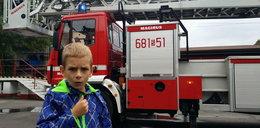 7-letni Szymon uratował blok!
