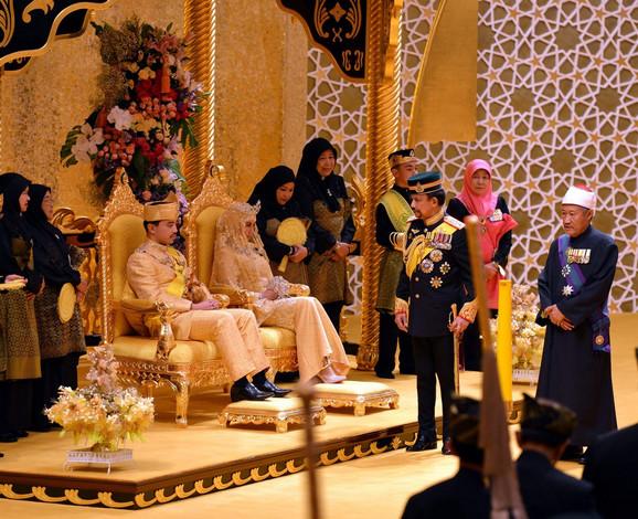 Venčanje princa Abdula Malika