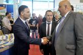 Delegacija posetila štand Dunava