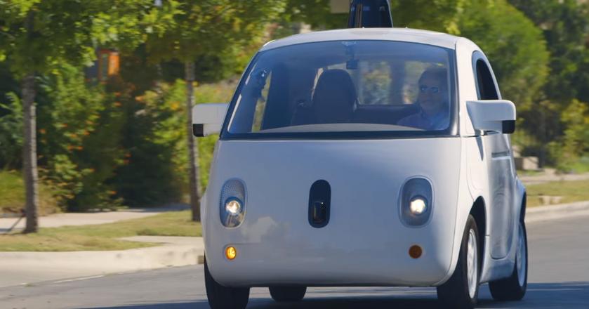 Świetlik, prototypowy autonomiczny pojazd Google