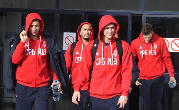 Reprezentativci Srbije dolaze u nekadašnji
