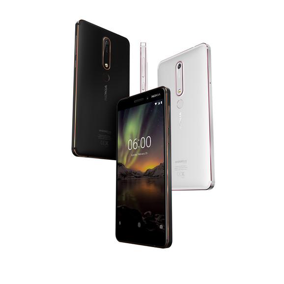 Nokia 6 dolazi u tri boje