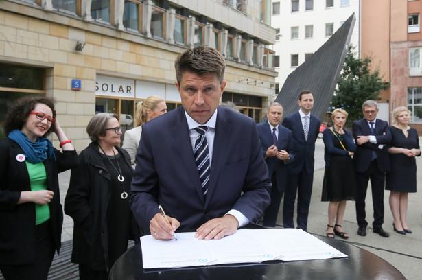 Lider Nowoczesnej Ryszard Petru, PAP/Paweł Supernak
