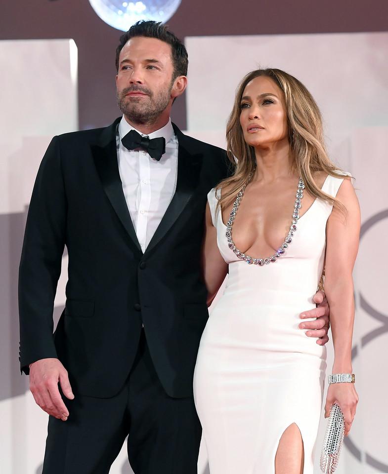 Ben Affleck and Jennifer Lopez at the Venice Festival