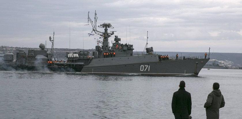Rosyjskie okręty na Bałtyku