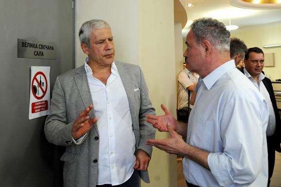 Boris Tadić i Zoran Lutovac