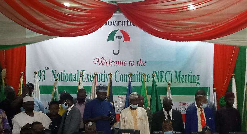 National Executive Committee of the Peoples Democratic Party (Premium Times)