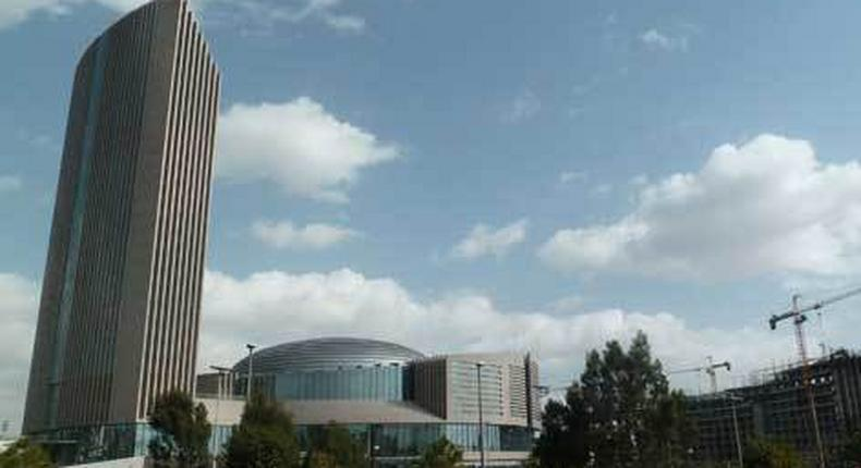 African Union Headquarters in Addis Ababa