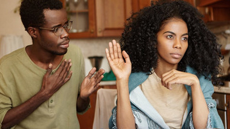 How does one deal with living with a cheating husband?
